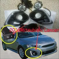 Car styling for 2016 year of DRL Mitsubishi Lancer daytime light LED car accessories headlight lancer fog lamp