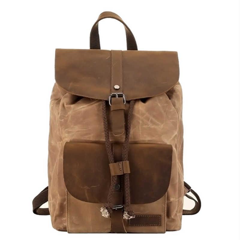 XIYUAN мужской хаки/армейский зеленый/серый Рюкзак Холст студенческая Школьная Сумка Рюкзаки рюкзаки мужские сумки на плечо
