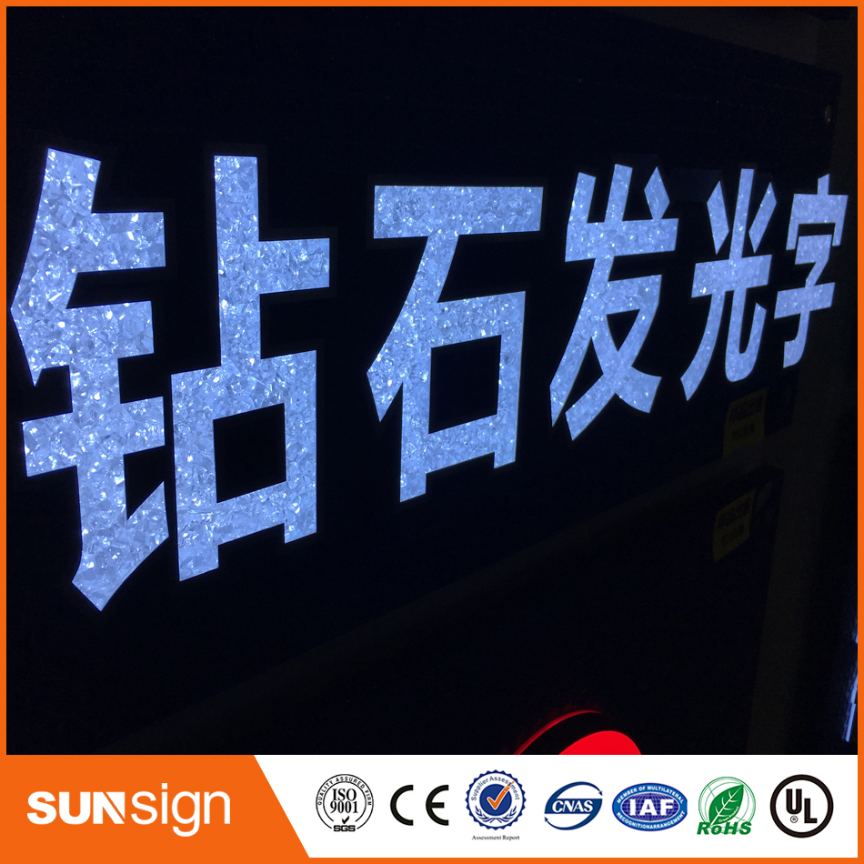 High Quality Outdoor Frontlit Letter Light Signs