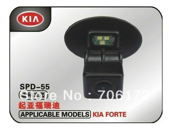 Factory selling CCD Car reversing camera car rearview Camera rear car camera for KIA FORTE/Hyundai Verna with wide viewing angle