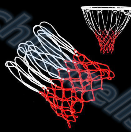 1pcs High Quality Durable Standard Size Nylon Thread Sports Basketball Hoop Mesh Net Backboard Rim Ball Pum