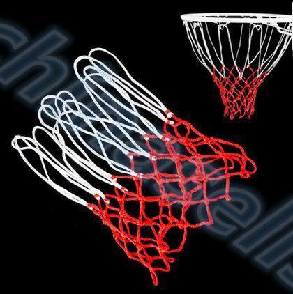 1pcs High Quality Durable Standard Size Nylon Thread Sports Basketball Hoop Mesh Net Backboard Rim Ball Pum