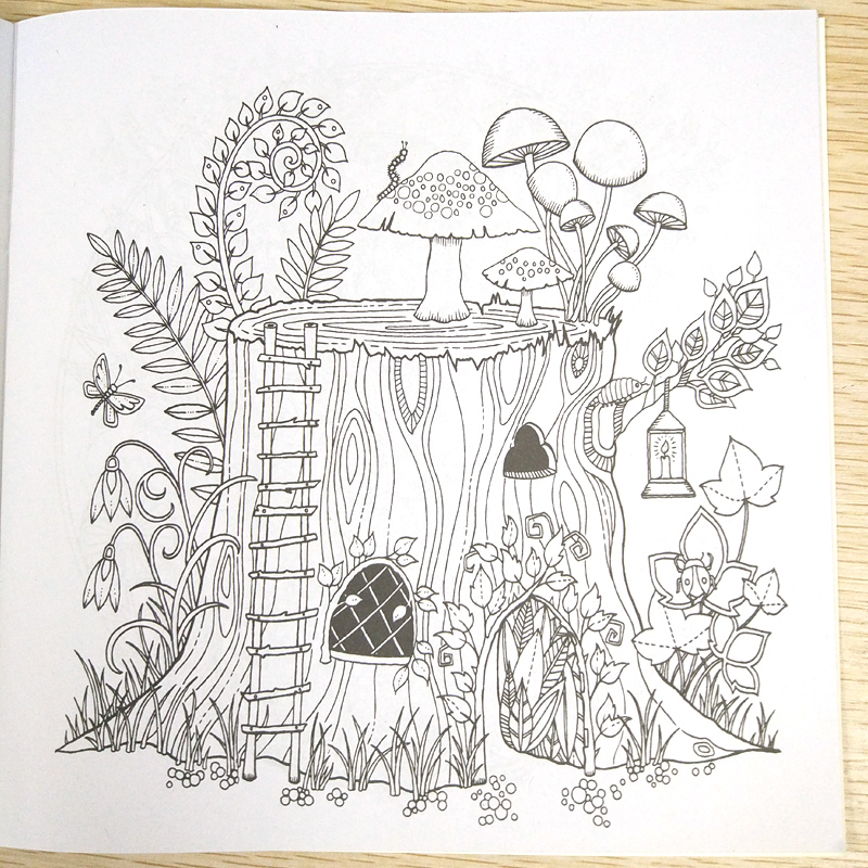 - 24 Page Coloring Book Enchanted Forest Kids Books Antistress Adult Coloring  Books For Adults Livre Drawing/Art/colouring Book - SHOP THE NATION