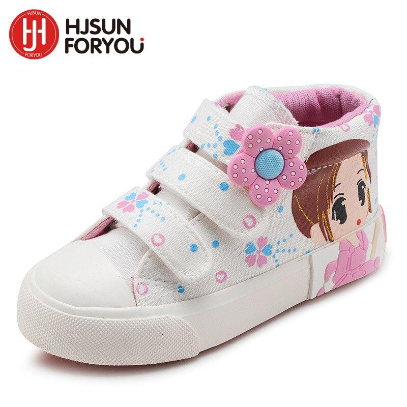 2019 primavera otoño niños zapatos de lona de moda para niñas - Zapatos de niños - foto 5