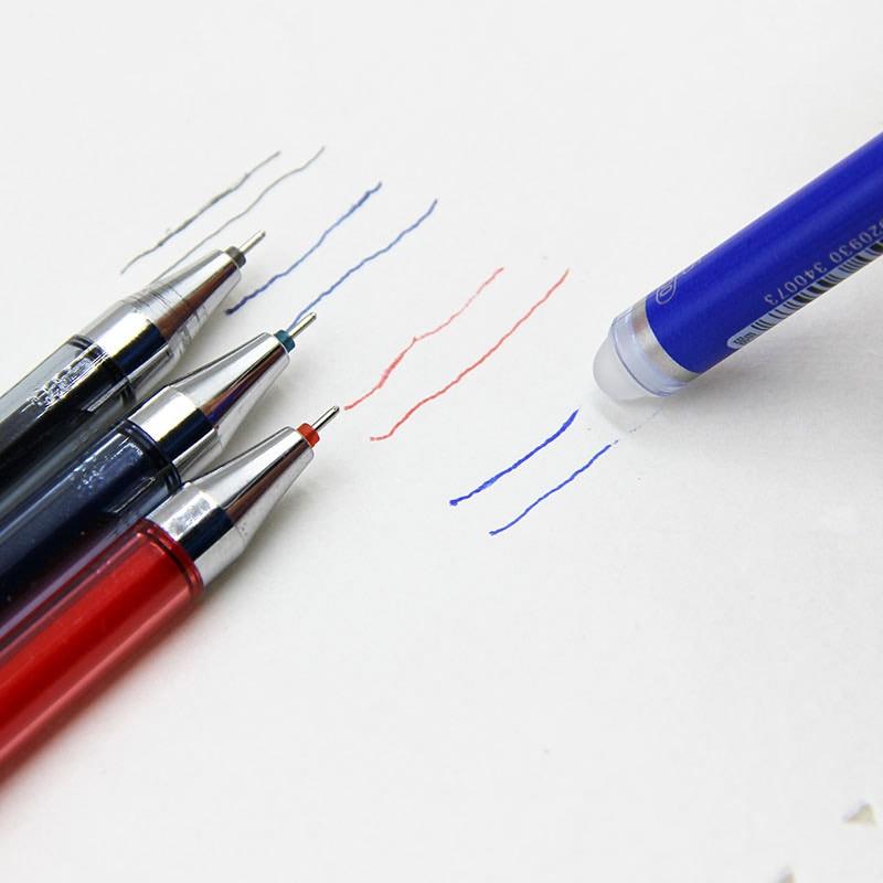 1 Psc Office Stationery 47200 Unisex Pen Erasable Pen Unisex 0.5 Gel Pen 4 Color Choose Learning Essential