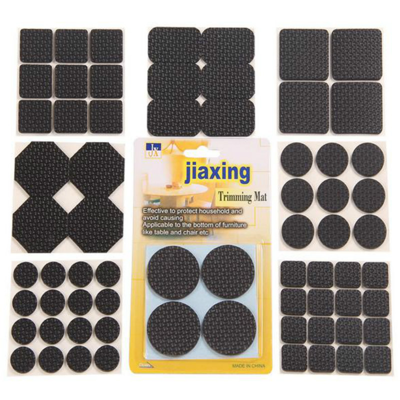 Furniture Accessories 50 Pcs/lot Self Adhesive Rubber Furniture Leg Feet Pads Floor Protectors Anti-slip Noise Accessories