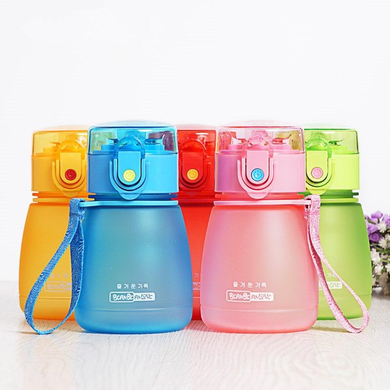 308ml Hot Baby Bottles Eco-friendly PC Kid Bickiepegs Baby Cartoon Water Bottle Children Straw Bottle Kettle Sports Bottle