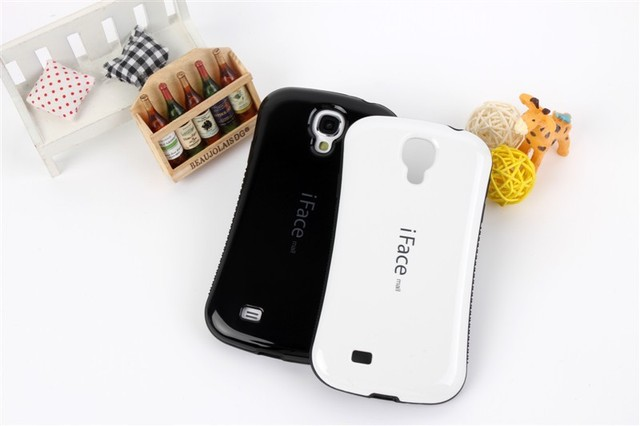 High quality iFace Case For Samsung Galaxy SIV S4 i9500;Free shipping with retail package,5pcs/lot