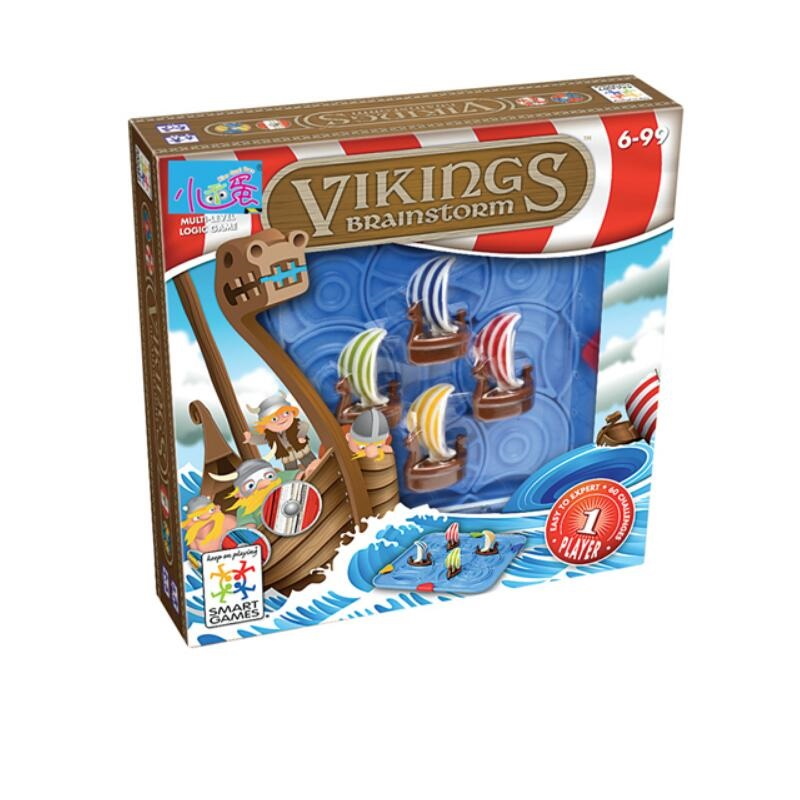 Viking Sea Warrior Logic Thinking Training Game Family Party Game Educational Toys For Children