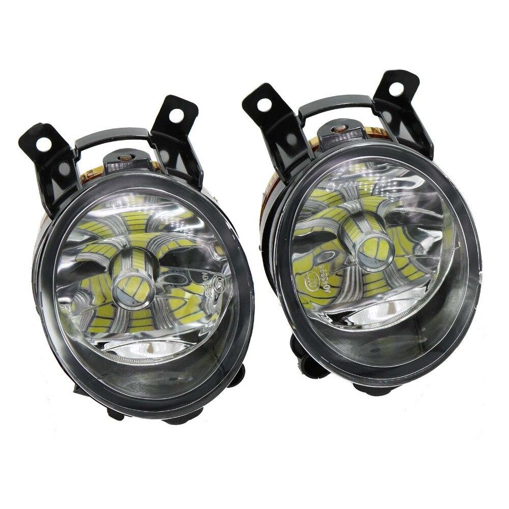 2Pcs For Skoda Octavia A6 RS 2009 2010 2012 Fabia RS Roomster Scount 2012 2014 2015 LED Fog Lamp Fog light