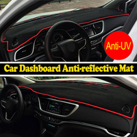 Car dashboard For Audi TT 2006 2014 right hand drive instrument platform dashboard protection pad Car sticker for car
