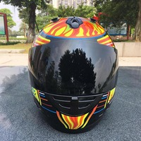 Brand Malushun Motorcycle Helmet Jorge Lorenzo Full Face Helmet MotoGP Racing Helmet Moto Casque Moto Modulaire