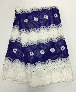 Latest Style Fashion Design Beautiful African Net Lace Fabric With beads 2017 Most Popular French Lace Fabric For Wedding