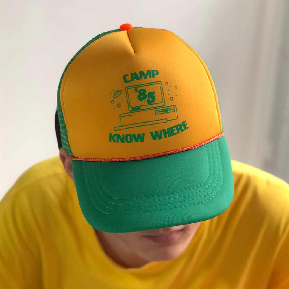c99c94b5d 2019 Hot Stranger Things 3 Dustin Hats New Retro Mesh Trucker Cap ...