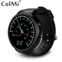 Colmi I1 Montre Smart Watch Android 5.1 OS 2 GB + 16 GB WIFI 3G GPS Moniteur de Fréquence Cardiaque Bluetooth MTK6580 Quad Core SmartWatch