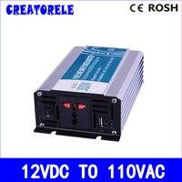 300W 12v dc to 110v ac pure sine Wave inverter voltage converter solar inverter electric powerr inversor P300 121