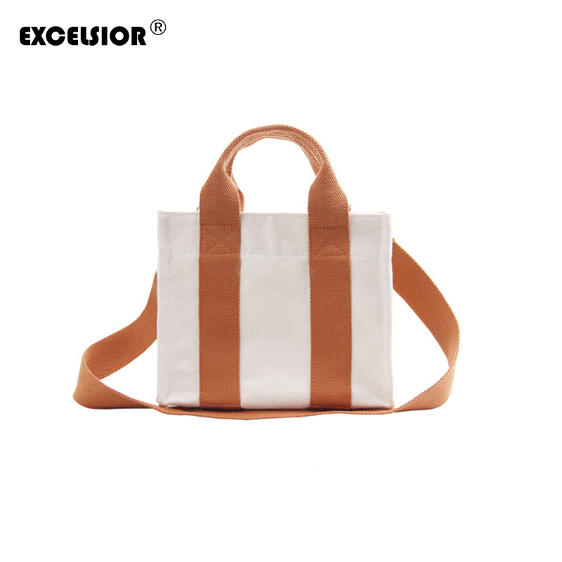 New Women Messenger Bags for Women Canvas Panelled Handbag Female Shoulder Bag Ladies Crossbody Bags bolsa sac a main femme de