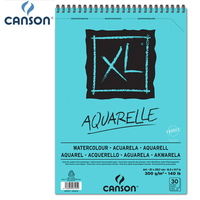 A4 France Canson XL Aquarelle Watercolor Painting Book Warm White Paper Pad 30 sheets 30 sheets for watercolours gouache acrylic