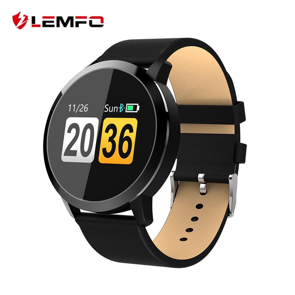 LEMFO Watch Smartwatch Women Men Heart Rate Blood Pressure Oxygen Monitor OLED Screen Bluetooth Sport Watch Wearable Devices