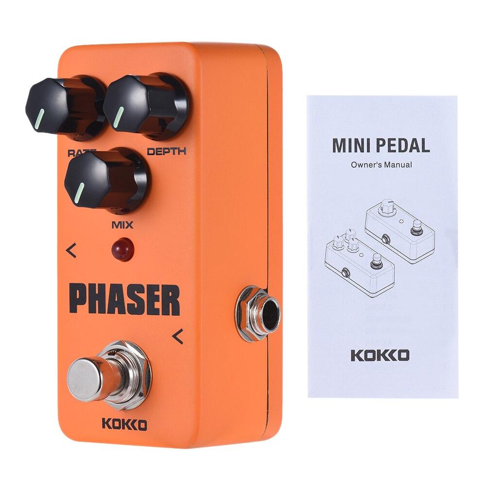 buy kokko guitar pedal mini analog phaser phase guitar effect pedal true bypass. Black Bedroom Furniture Sets. Home Design Ideas