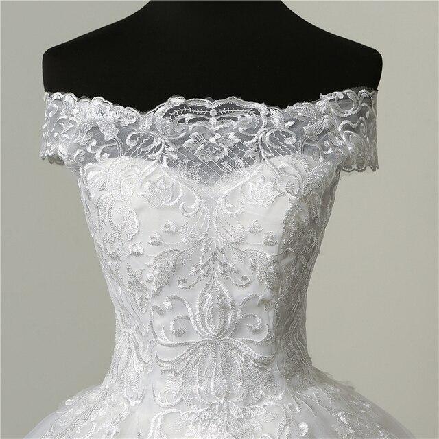 Real vedio luxo rendas apliques plus size vestido de casamento bordado 2021 novo longo trem querida vestido noiva vestidos de noiva 6