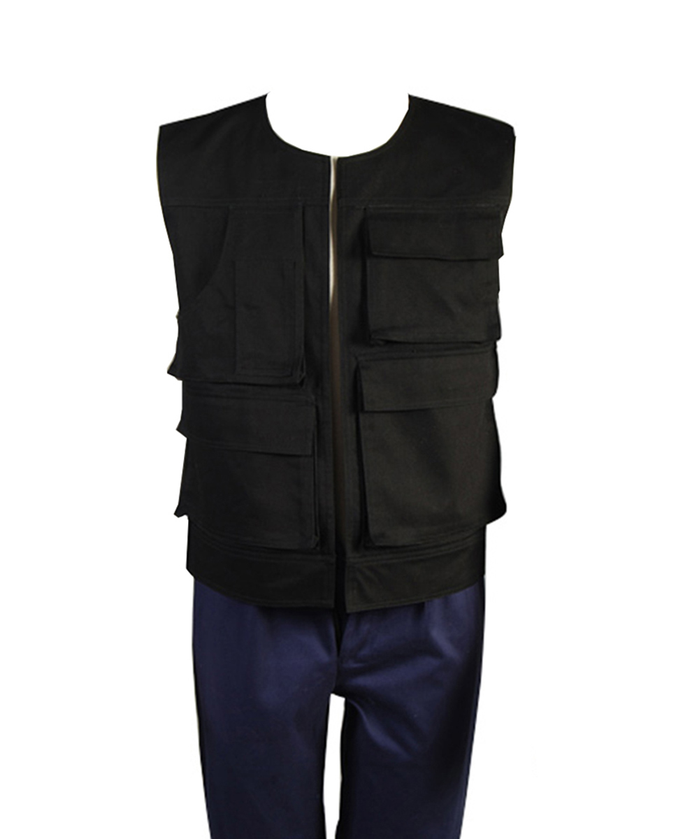 Image 2 - Star Wars ANH A New Hope Han Solo Costume Vest Only Top Costume Halloween Carnival Cosplay Men-in Movie & TV costumes from Novelty & Special Use
