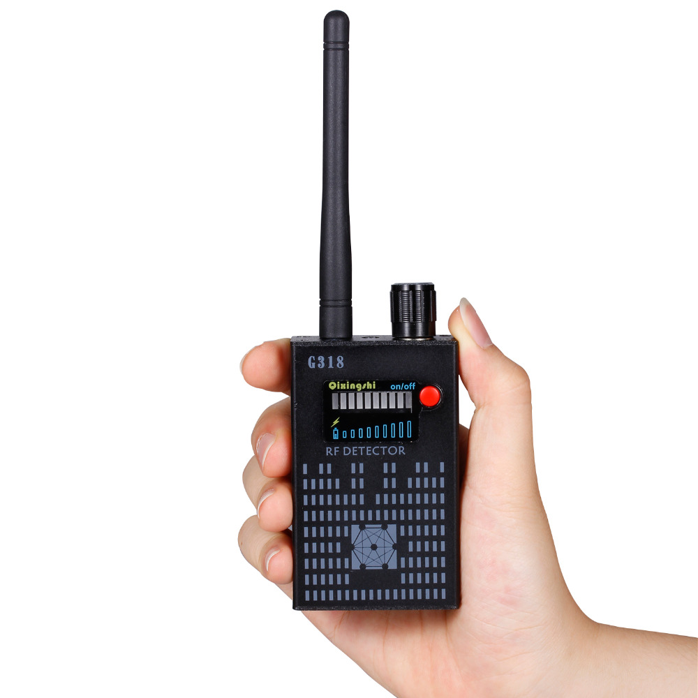 new update Super G318 portable Anti-Spy Amplification signal detector spy bug wireless Detector WIFI finder