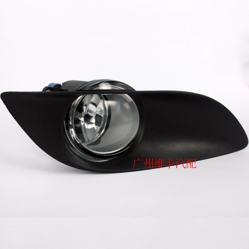 eOsuns halogen fog lamp for TOYOTA YARIS SEDAN/BELTA 2006~ON, for TOYOTA VIOS 2007~ON, with harness, wiring kit and switch fog lights lamp for toyota yaris senda 2006 belta vios 2007 clear lens pair set wiring kit fog light set