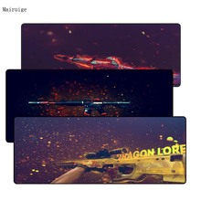Mairuige 90*40cm large CS:GO gaming mouse pad XXL big game Locking Edge mousepad keyboard desk mat hyper beast Gamer mouse mat цена и фото