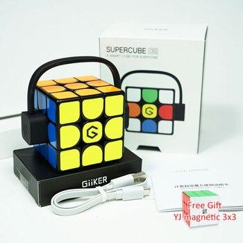 Update Verion Giiker i3s Super Smart Cube AI Intelligent Magic Magnetic Bluetooth APP Sync Intellectual Development Puzzle Toys