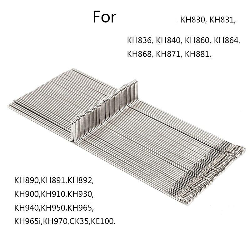 50Pcs peças Da Máquina De Tricô Agulhas de Crochê Gancho para O Irmão Máquina de Confecção de malhas de fios de lã KH830 KH860 KH881 KH868 KH940 KH970