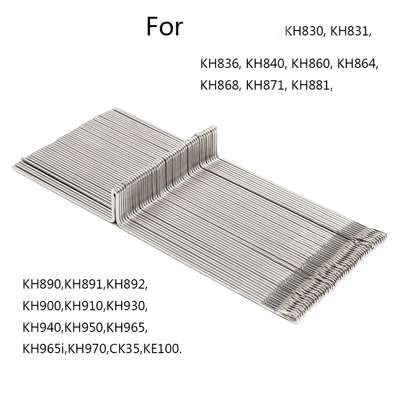 50Pcs Steel Knitting Machine Needle Set Sewing Tool Part For Brother KH830 KH860