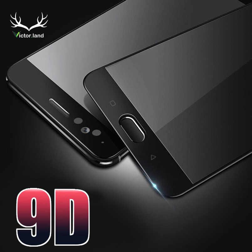 9D Screen Protector für Huawei P20 Lite Pro Mate 10 lite Gebogene Kante Gehärtetem Glas Voll Abdeckung Film Fall Telefon schutz tasche