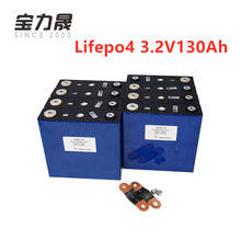 8PCS CALB New 3.2V 130Ah LiFePO4 Long LifeCycles 3500 Times  NOT 120Ah For 12V Solar Energy Storage Battery pack photovoltaic long life gbs lifepo4 battery pack 12v200ah for electric vehicles energy storage solar ups
