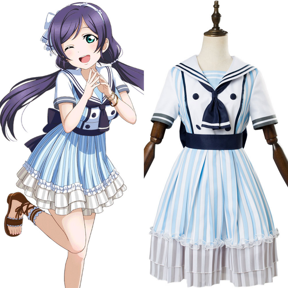 LoveLive Pirate Nozomi Tojo Cosplay Costume Nozomi Tojo Pirate Dress Halloween Carnival Cosplay Costume Customizable