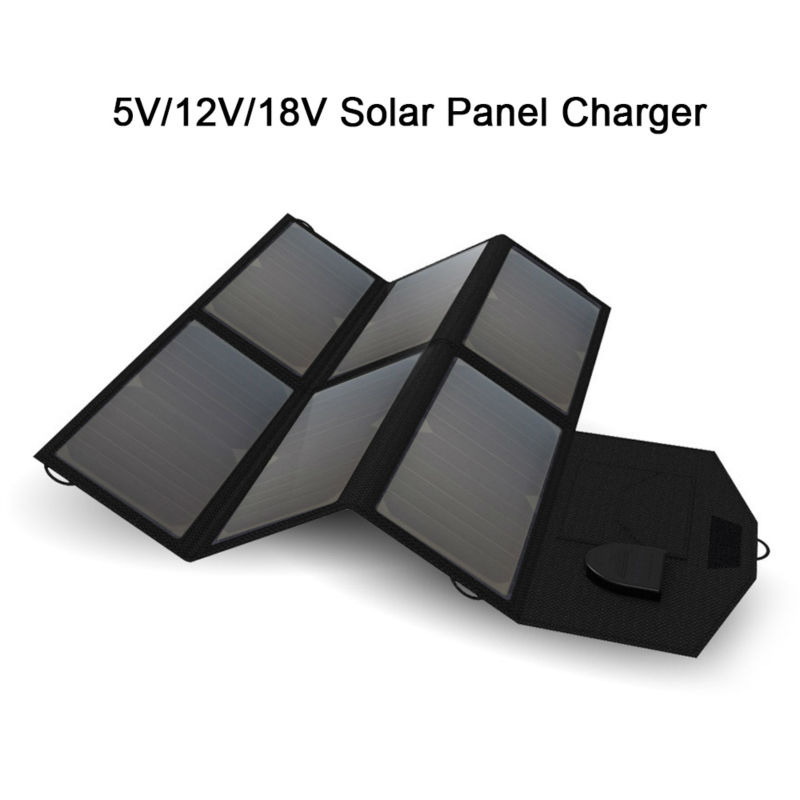 Portable Solar Energy System Solar Charger Charge for iPhone iPad Samsung HTC Sony 12 Car Battery 18~19V Laptops and more. forex b016 6760