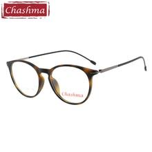 Chashma Brand Student Vintage Eye Glasses lentes opticos mujer Cat Stylish TR90 Light Frame Women Optical Men
