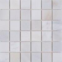 Каррара Белый Серый Мрамор мозаика Кухня щитка Ванная комната Душ этаж дома каменные стены, бесплатная доставка, lsmb103