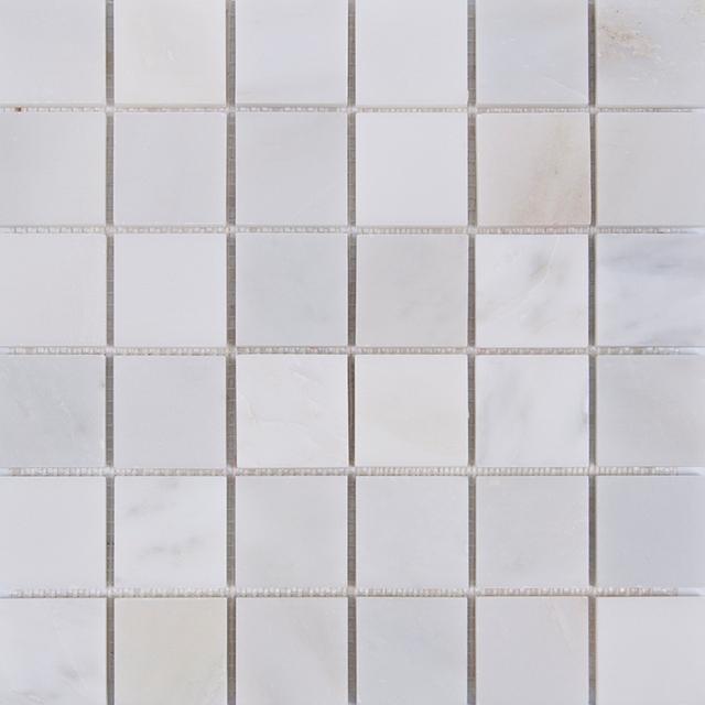 Mosaico di Marmo di Carrara Bianco Grigio piastrelle Cucina ...