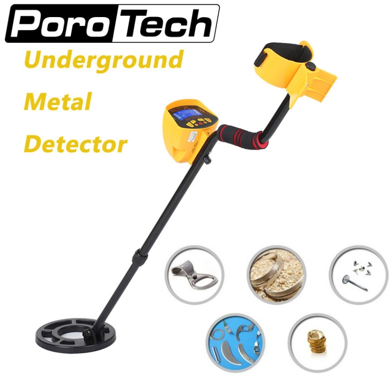 Ground Metal Detector MD3010II Underground Treasure Hunter Professional Gold Metal Detector MD-3010II LCD Display Pinpionter