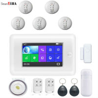 SmartYIBA APP Wifi GSM RFID Alarm Pet Immunie Motion Sensor Host Burglar Security Alarm System Door Window Entry Security