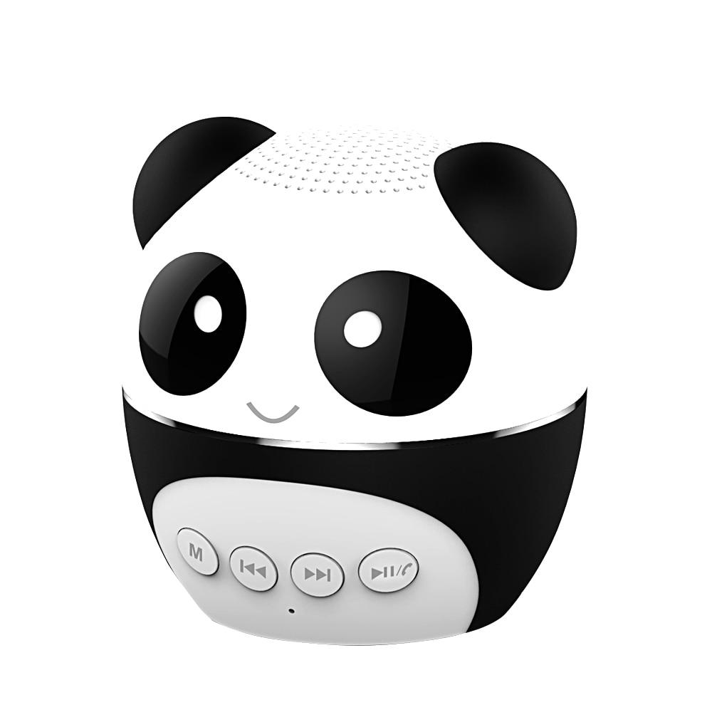 Mp3-player WohltäTig Panda Ba-260 Bluetooth Lautsprecher Wireless Mini Mobile Subwoofer Tragbare Kleine Und Nette Tf Karte Mp3 Player Hindernis Entfernen