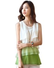 New Multi-Colors Blouse Spring/Summer Style