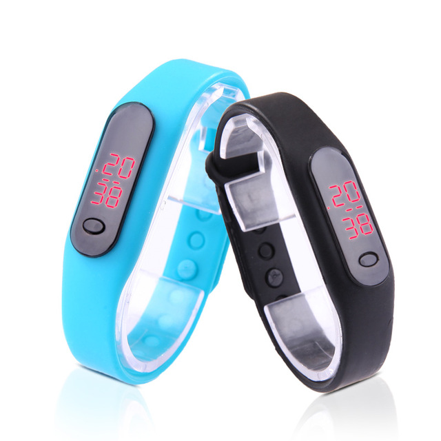 Masculino Montre Kids LED Digital Silicone Date Women font b Watch b font Adjustable Waterproof Sports