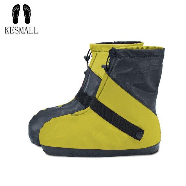 KESMAll прозрачные многоразовые дождевые Чехлы для обуви водонепроницаемые Анти-пыль защитная накладка обувь крышка ботинка противоскользящ...
