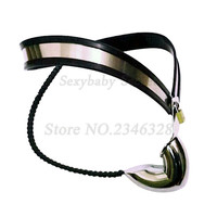 Stainless Steel Male Underwear Chastity Belt,Virginity Lock,Cock Cage,Penis Rings,BDSM Bondage Sex Toys For Man Gay Sex Shop