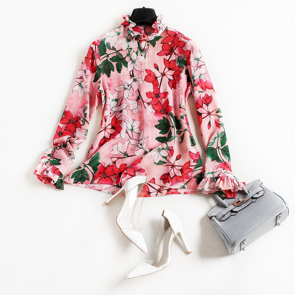Online Buy Wholesale red flower shirt from China red flower shirt ...