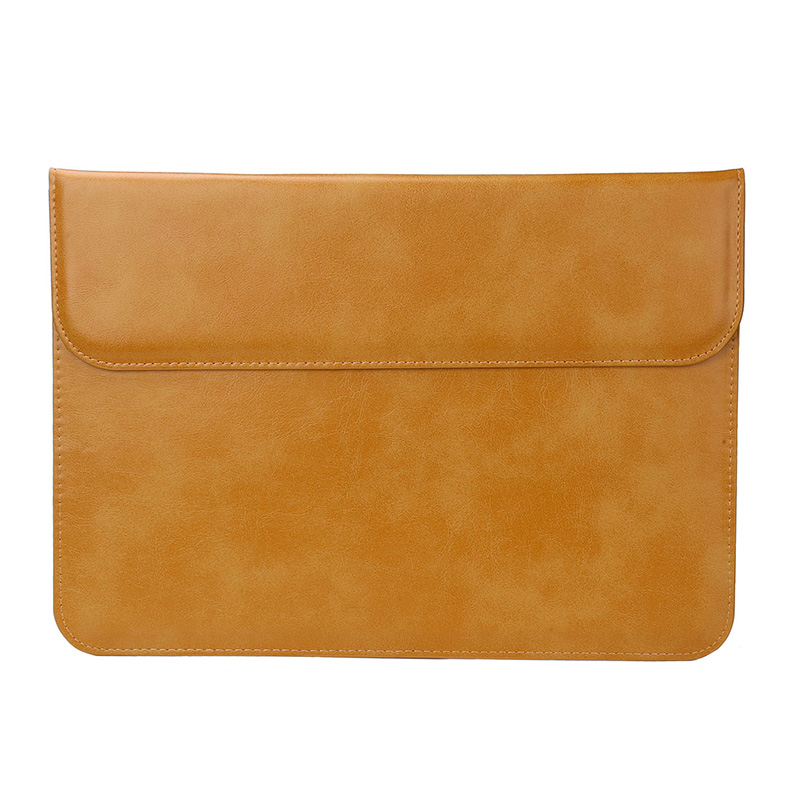 A1706 A1707 A1708 Clamshell Leather Laptop Sleeve Cover Case For Macbook Air Pro Retina Liner Sleeve Case for Surface Pro 3 4 5
