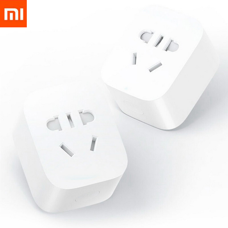 Original Xiaomi MIJIA Inteligente WI-FI Sem Fio Tomada ZigBee Versão Atualizada do Controle Remoto Interruptor De Controle De Tempo de Contagem de Gateway