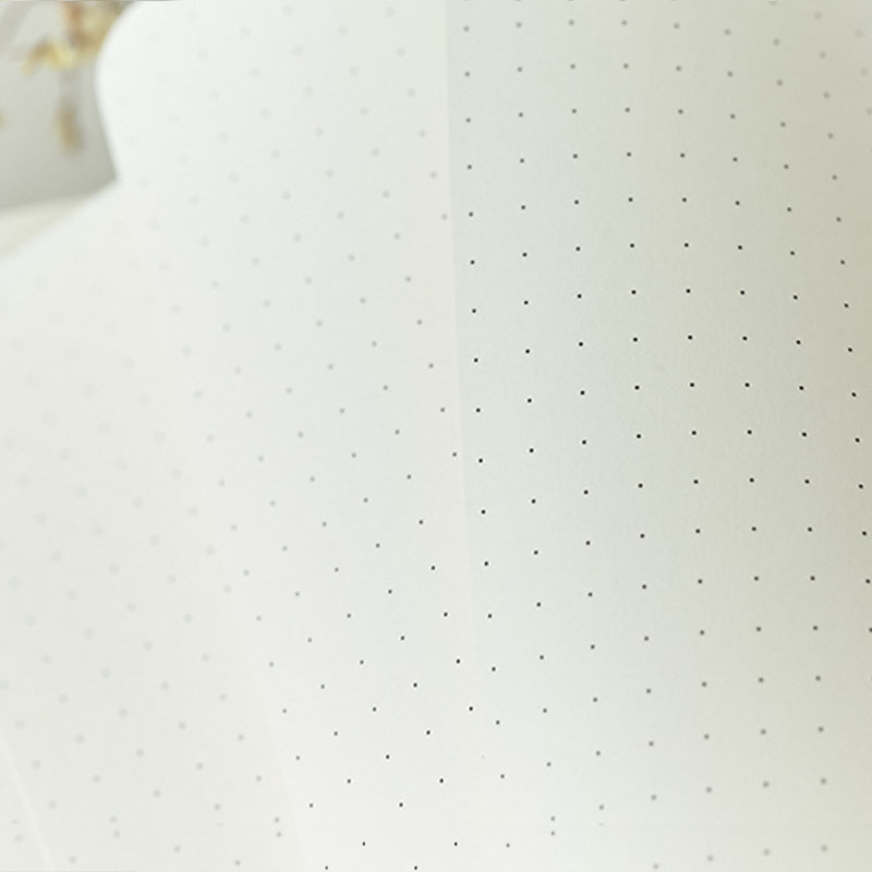 Dotovaný měkký kryt Candy Color A5 Koženkový notebook Elastic - Bloky a záznamní knihy - Fotografie 4